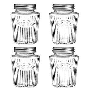 4 Kilner® Vintage Preserve Jars 500ml