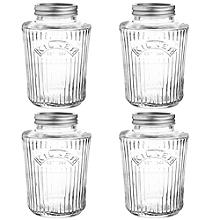 4 Kilner® Vintage Preserve Jars 1 Litre