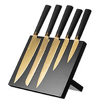 Viners Titan Gold 5pc Kitchen Knife Set &