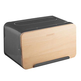 Typhoon® Hudson Grey Breadbox