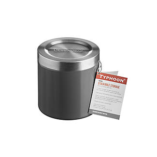 Typhoon® Hudson Small Grey Storage Tin