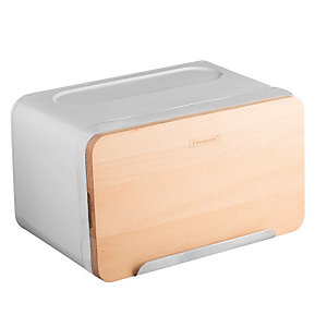 Typhoon® Hudson White Breadbox
