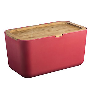 Typhoon® Nubu Red Bread Bin