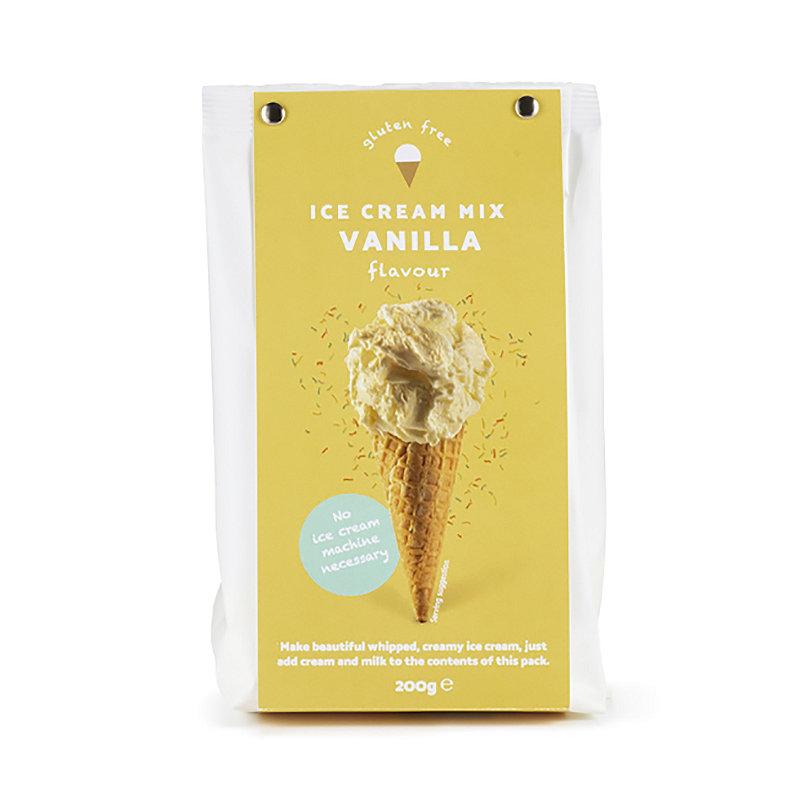 Vanilla Flavour Gelato Ice Cream Powder Mix 200g