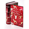 Christmas Book Tin