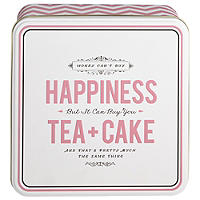 "Keksdose ""Happiness Tea & Cake"""