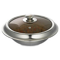 22cm Stainless Steel Casserole Dish