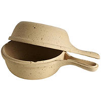 Unglazed Earthenware Potato Baker