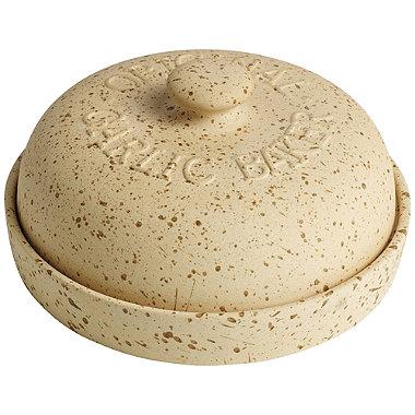 Unglazed Earthenware Garlic Baker