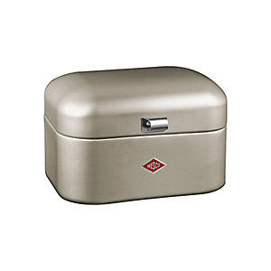 Wesco® Single Grandy Bread Bin, Silver