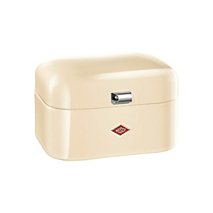 Wesco® Single Grandy Bread Bin, Almond
