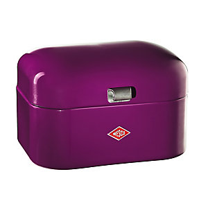 Wesco® Single Grandy Bread Bin, Purple