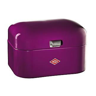 Wesco® Single Grandy Bread Bin, Purple