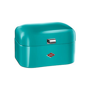 Wesco® Single Grandy Bread Bin, Turquoise
