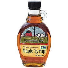 Pure New England Maple Syrup