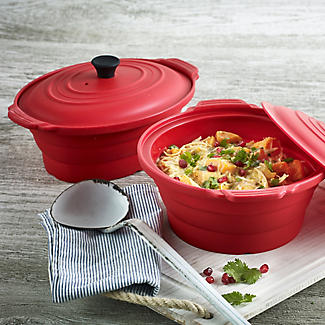Lakeland Oval Silicone Microwave Casserole alt image 3
