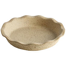 Lakeland Unglazed Earthenware Fluted Pie Dish