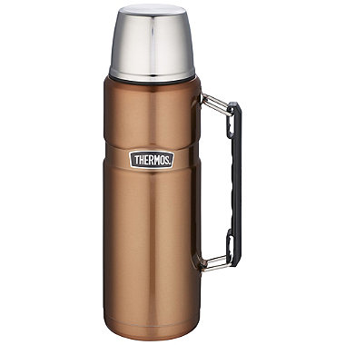 Large Thermos® King Copper Flask