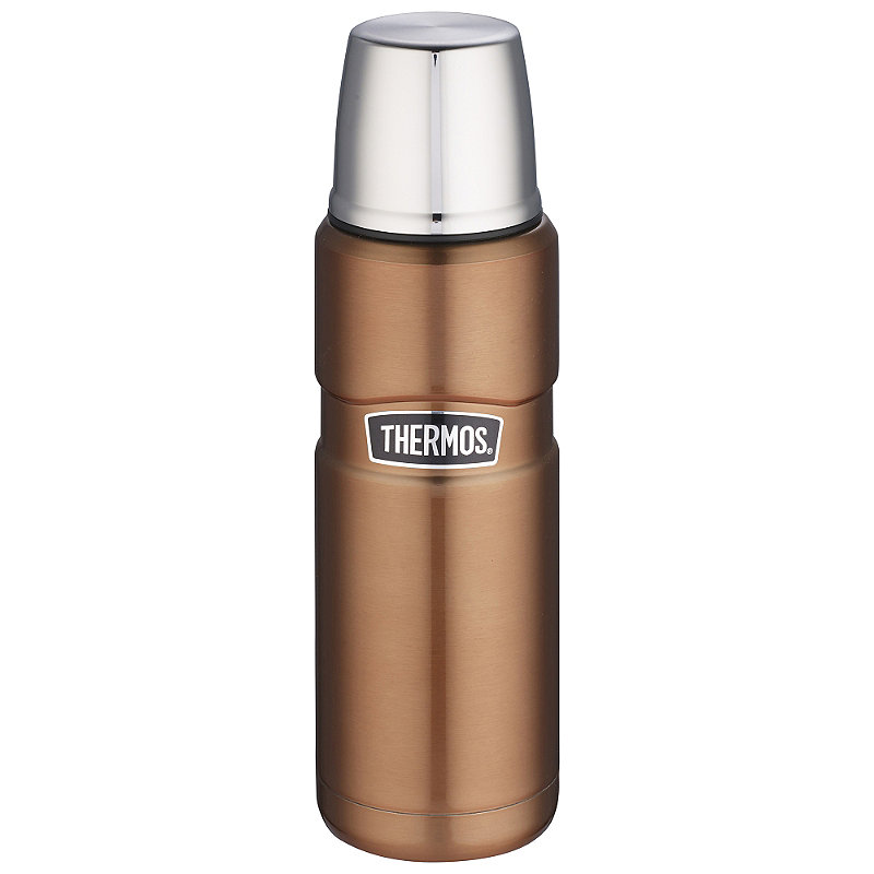 Thermos® King Small Copper Flask