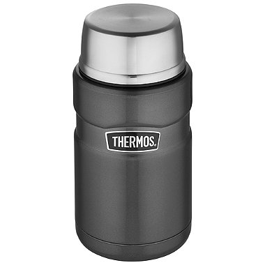 Thermos King Grey Large Food Flask 710ml