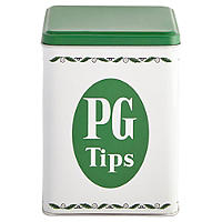 PG Tips Tin