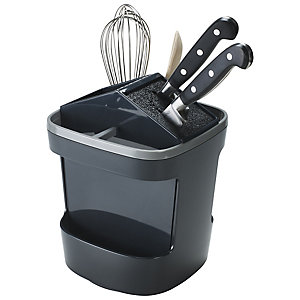 ILO Drehbarer Messer- & Küchenutensilienhalter Grau/Grau