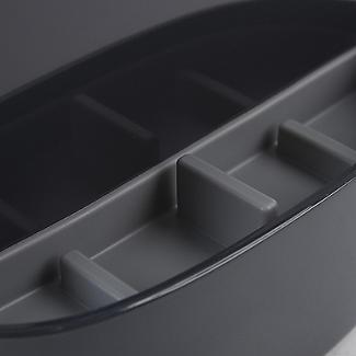 ILO Revolving Knife Block & Utensil Store Grey/Grey alt image 6