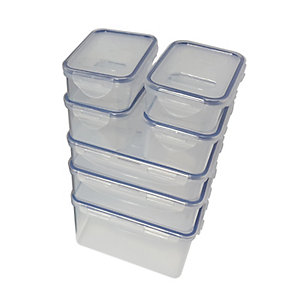 Lock and Lock 7 Piece Storage Set