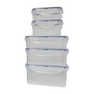 Lock and Lock 5 Piece Storage Set