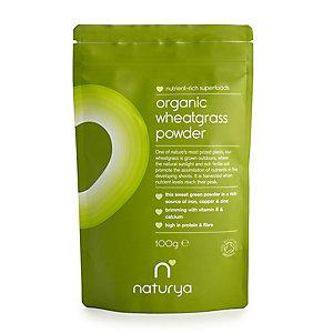 Naturya Organic Wheatgrass Powder