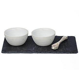 Just Slate Stoneware Pinch Pots