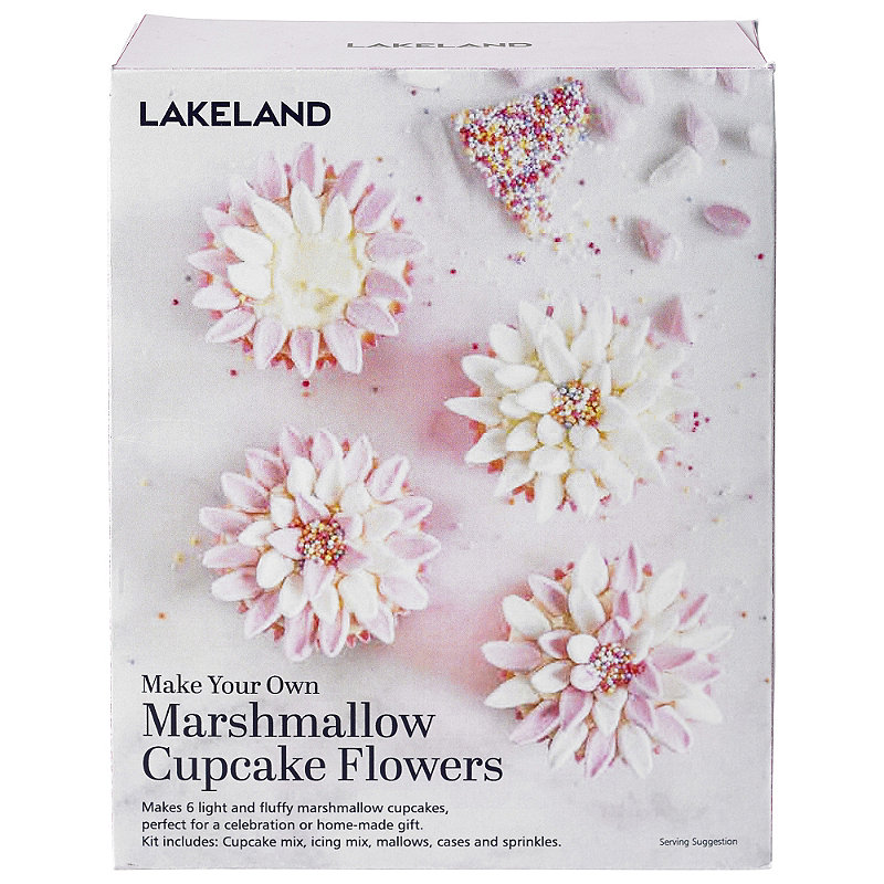 Marshmallow Cupcake Flowers Kit