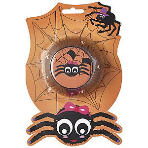 50 Spider Cupcake Cases