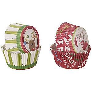 50 Winterspaß Cupcake-Manschetten