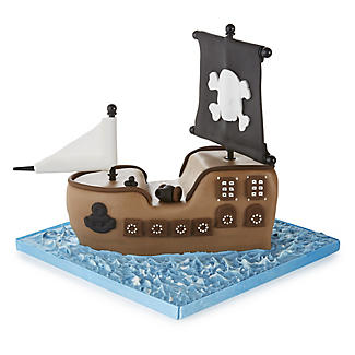 Kuchenform Piratenschiff