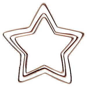 3 festliche Sternen-Ausstechförmchen