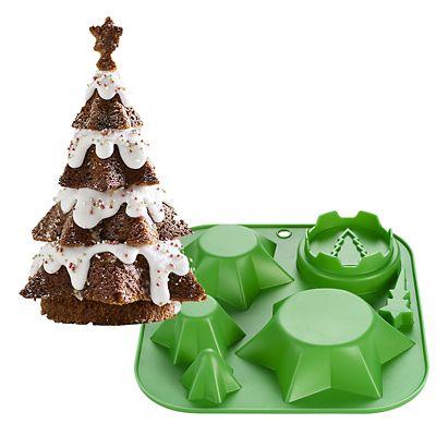 3d Christmas Tree Cake Mould