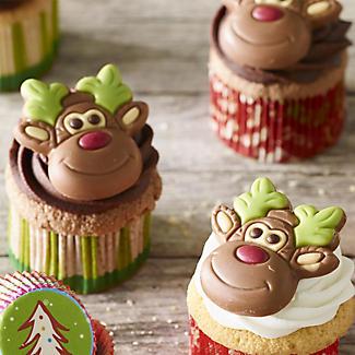 Reindeer Chocolate Cake Toppers alt image 2