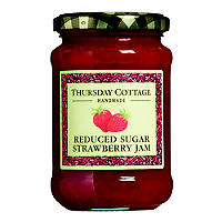 Thursday Cottage Reduced Sugar Strawberry Jam
