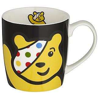 Black Pudsey Mug