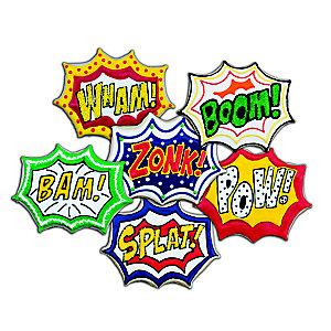 Comic Burst Cookie Cutters