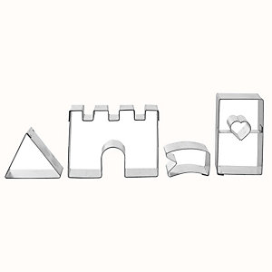 Fairy Tale Castle Cookie Cutter Set