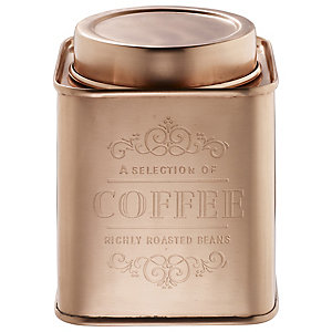 Copper Coffee Canister