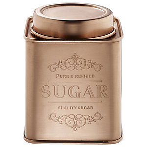 Copper Sugar Canister