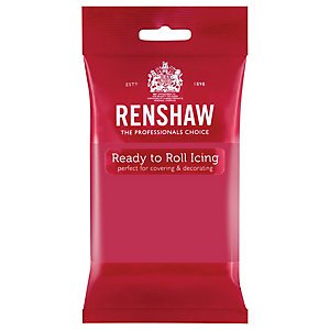 Renshaw's Ready to Roll Coloured Icing, 250g Fuchsia Pink