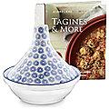 Blue & White Tagine with Seasoning Kit Bundle
