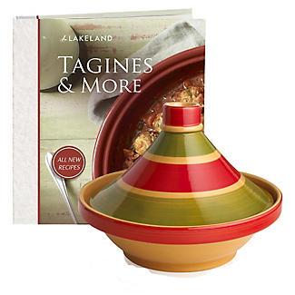 Large Traditional Tagine & Recipe book Bundle