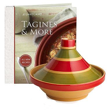 Large Traditional Tagine & Seasoning Kit Bundle