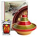 Traditional Tagine and Seasoning Kit Bundle