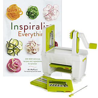 Easy Store Spiralizer and Inspiralize Everything Book Bundle